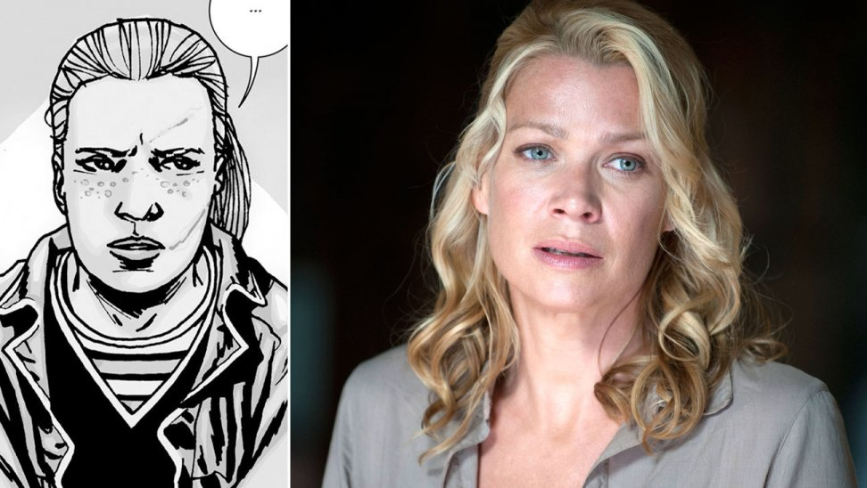 Laurie Holden andrea