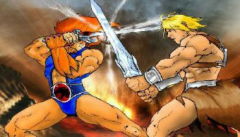 Lion-o εναντίον He-Man