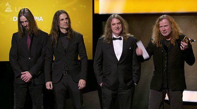 Megadeth κέρδισαν