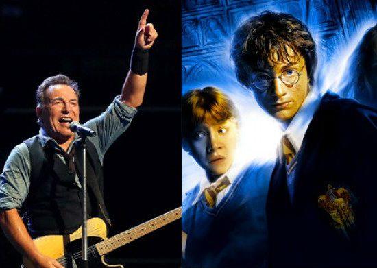 Bruce Springsteen για το Harry Potter