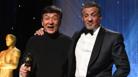 Sylvester Stallone και Jackie Chan