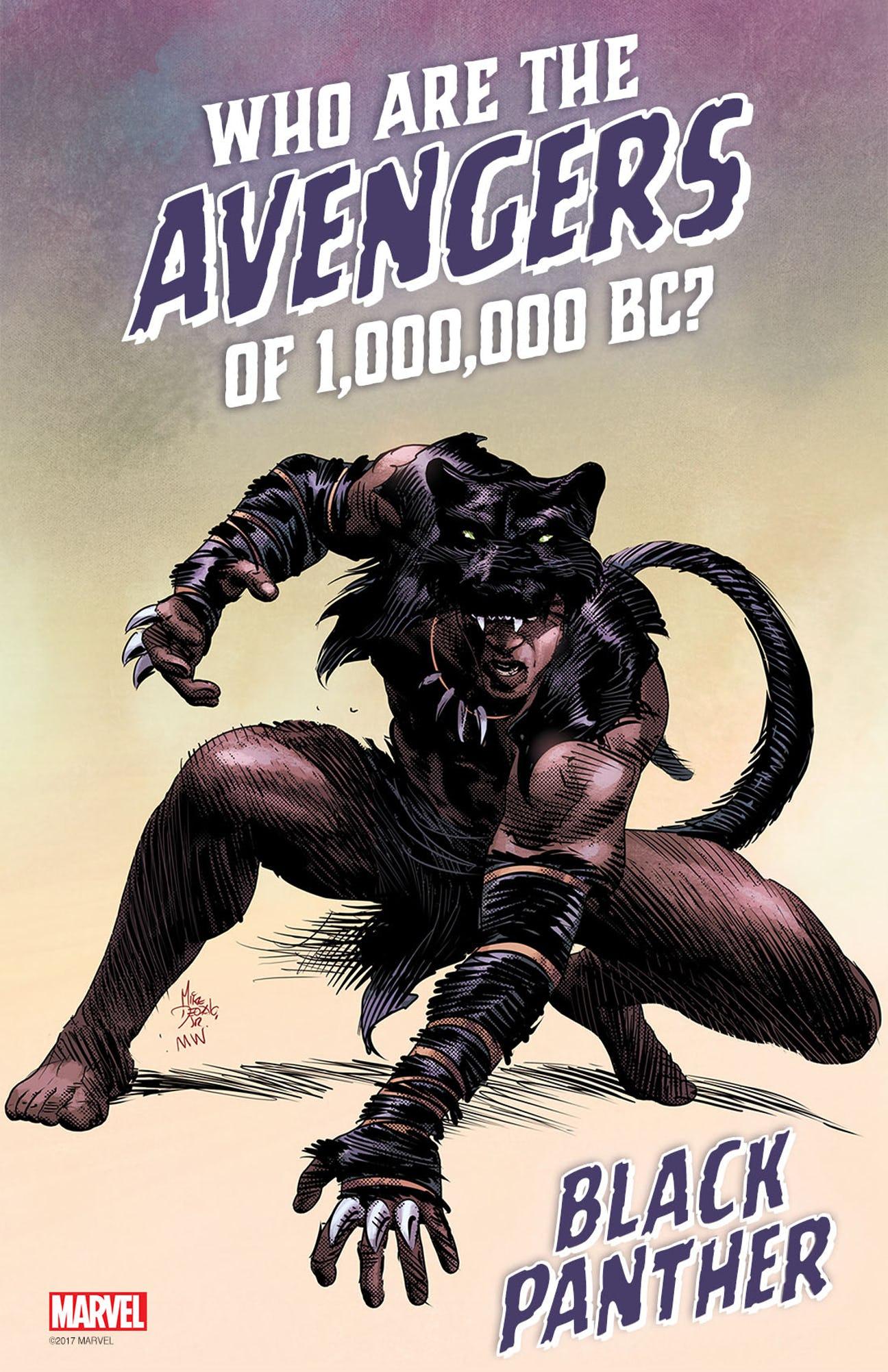 προίστορικoύς Avengers
