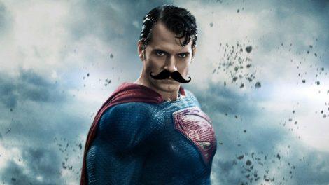 μουστάκι του Henry Cavill