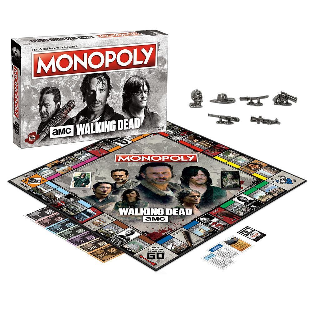 πάνες Negan monopoly the walking dead
