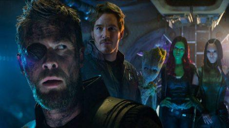 νέα πλάνα από το Infinity War