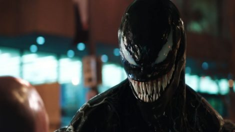 Tom Hardy να μεταμορφώνεται σε Venom