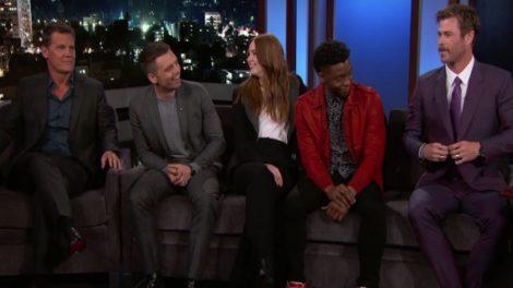 Ο Kimmel και οι πρωταγωνιστές του Infinity War μας κάνουν να χαμογελάμε σαν χαζοί