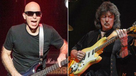 Ο Richie Blackmore πλήγωσε στον Joe Satriani για το τέλειο παίξιμό του