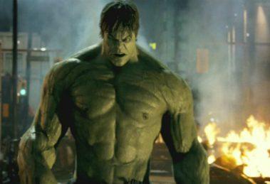 Mark Ruffalo το 2012 ως Bruce Banner/Hulk στο Avengers, μετά την solo ταινία Hulk το 2008.